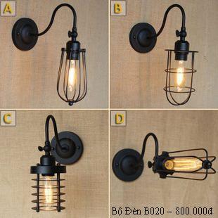 đèn trang trí đèn gắn tường BD020