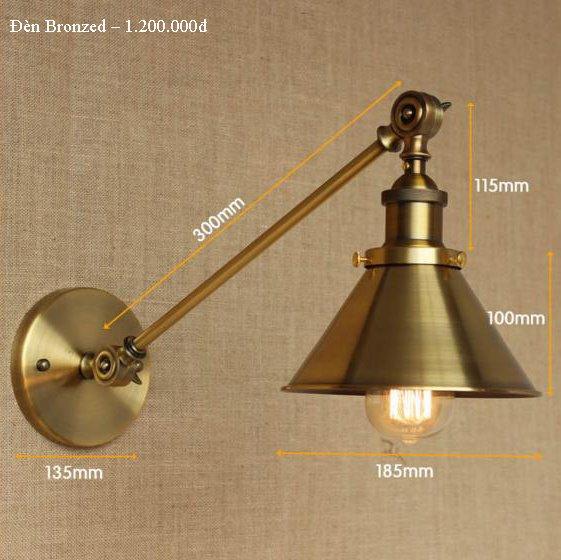 đèn trang trí đèn gắn tường BZONZED