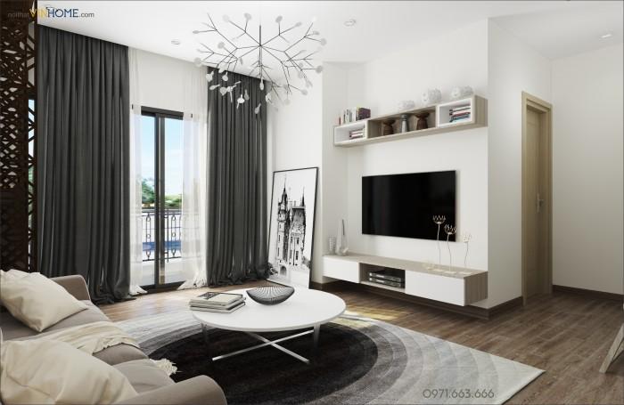 thiết kế nội thất Parkhill theo phong cách đơn giản mà chất