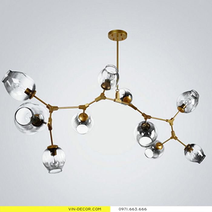 đèn cầu thủy tinh 01
