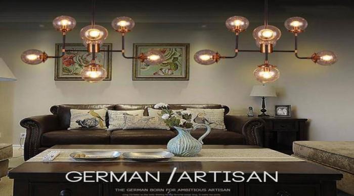 đèn chùm hiện đại trang trí nội thất