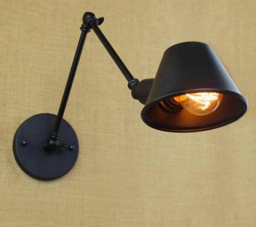 đèn gắn tường trang trí chao