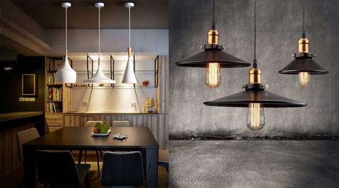 đèn thả bàn ăn hiện đại