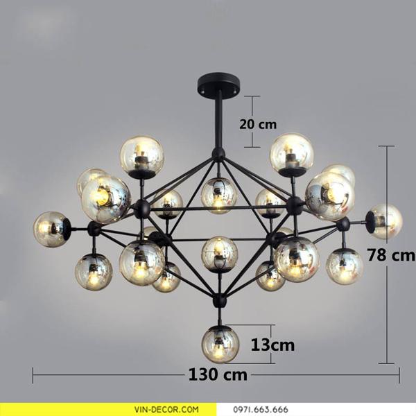đèn thả trần đèn trang trí phòng khách