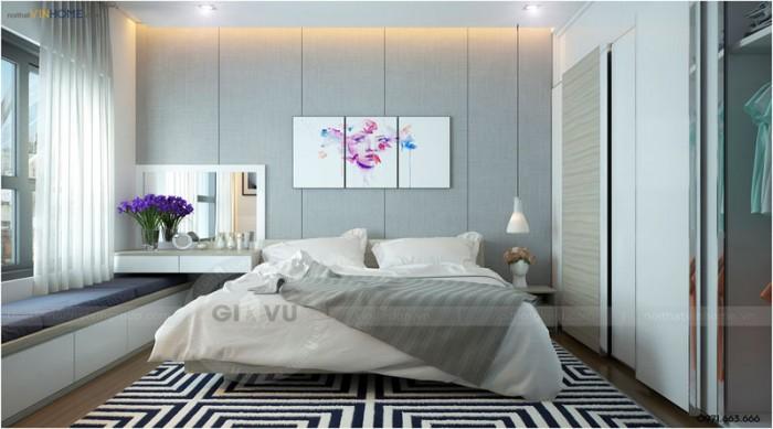 hoàn thiện nội thất Time city phòng ngủ