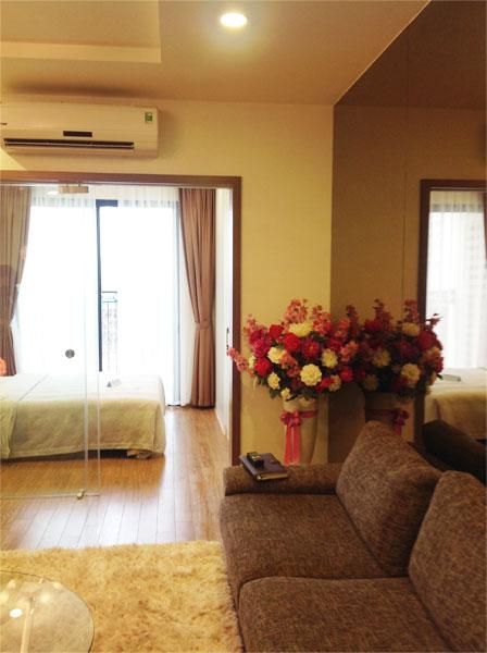 nội thất chung cư time