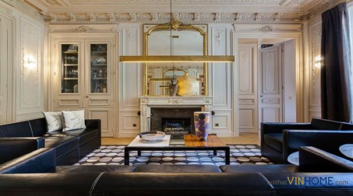 nội thất parkhill theo phong cách tân cổ điển