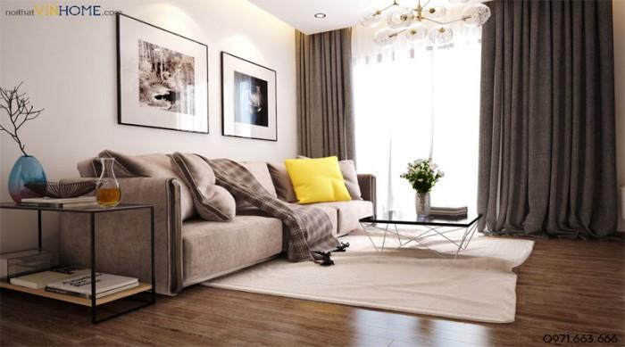 thiết kế căn hộ parkhill căn 2 phòng ngủ