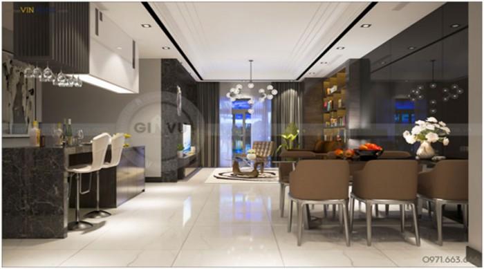 thiết kế nội thất chung cư cao cấp Parkhill