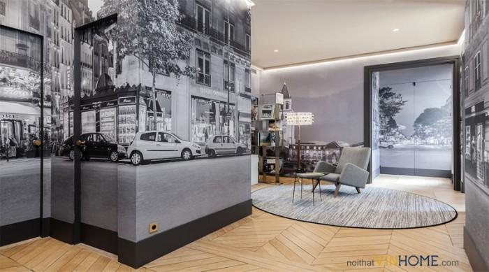 thiết kế nội thất chung cư parkhill tân cổ điển