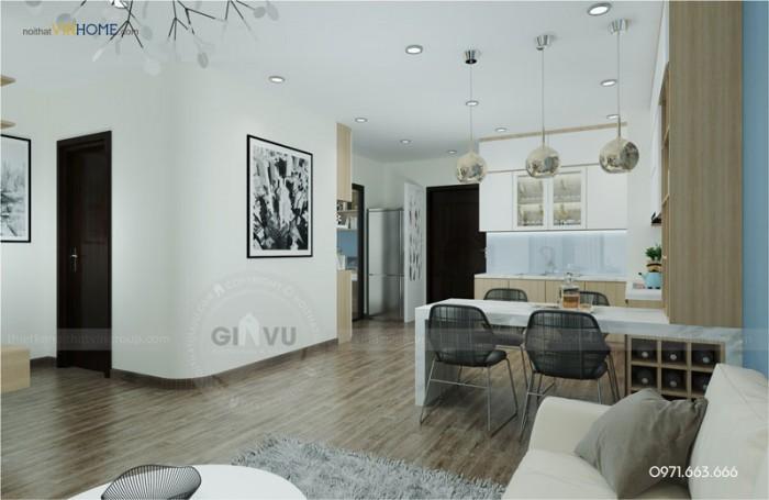 tư vấn và thiết kế nội thất Timecity Parkhill