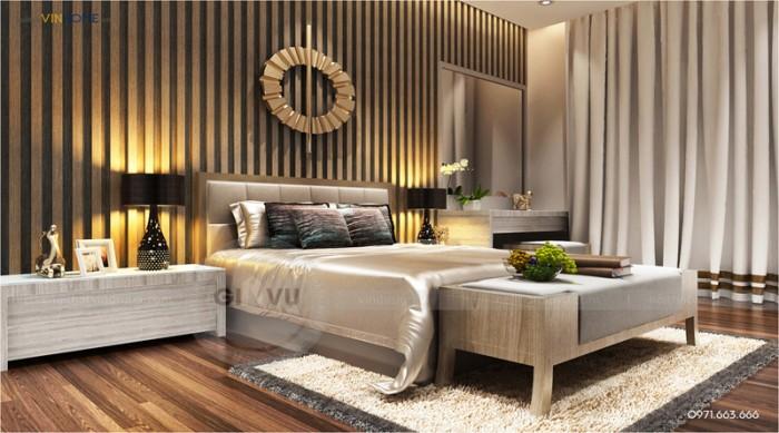 nội thất chung cư Park hill phòng ngủ chính