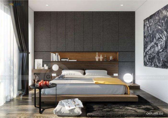 thi công và hoàn thiện nội thất Park hill phòng ngủ đẹp