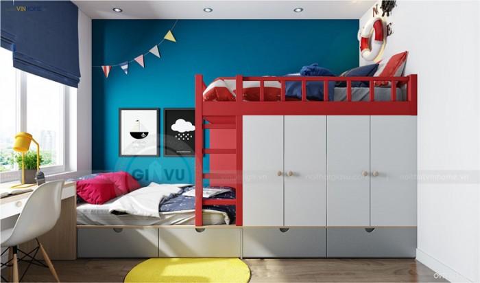 thiết kế Park hill phòng ngủ con gái