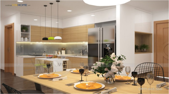 thiết kế nội thất Parkhill theo phong cách hiện đại đẹp