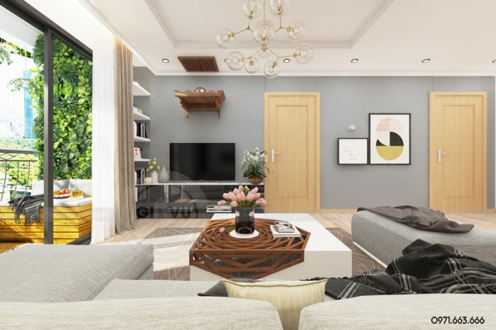 nội thất căn hộ pk