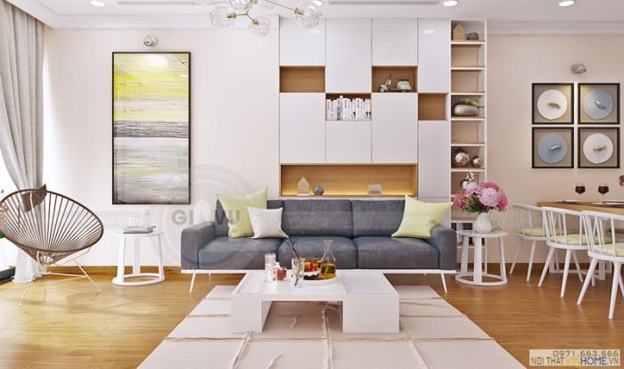 thi công hoàn thiện nội thất căn hộ 8 Park1 dự án Park hill Time city
