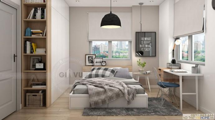 thiết kế nội thất Park11 phòng ngủ master2