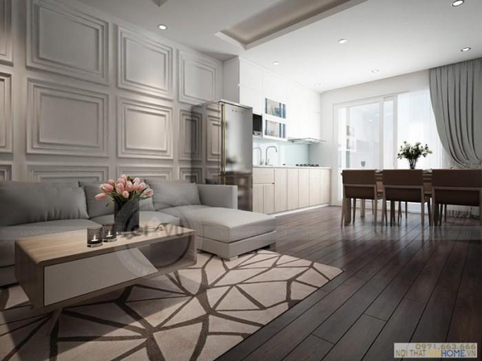 thiết kế nội thất căn hộ 10 Park8 Park hill Time city
