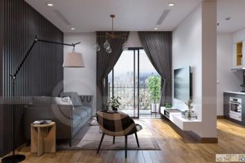 thiết kế nội thất căn hộ 5 Park2 Park hill Time city