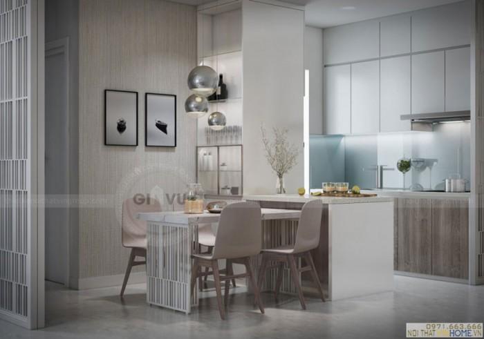 thiết kế nội thất căn hộ chung cư Park9 dự án Park hill