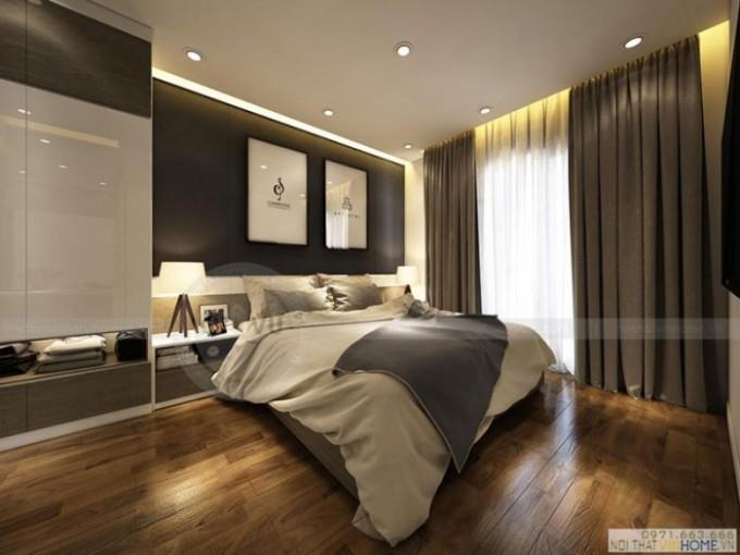 thiết kế nội thất căn hộ chung cư phòng ngủ 1