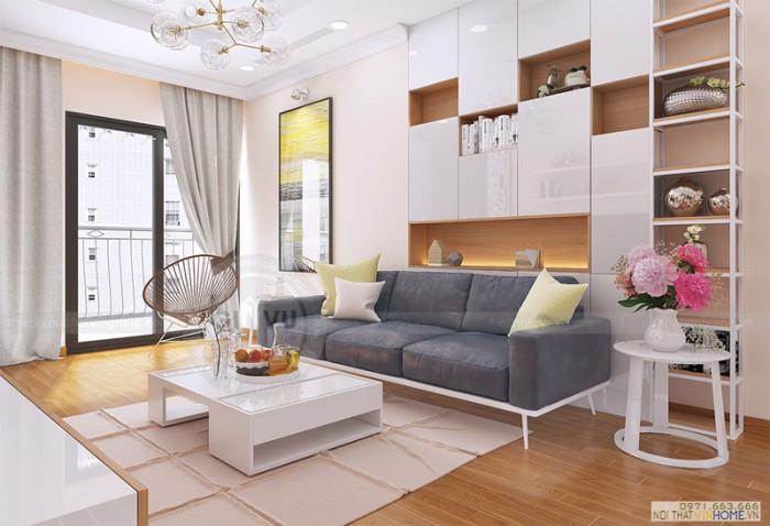 thiết kế nội thất chung cư Park hill