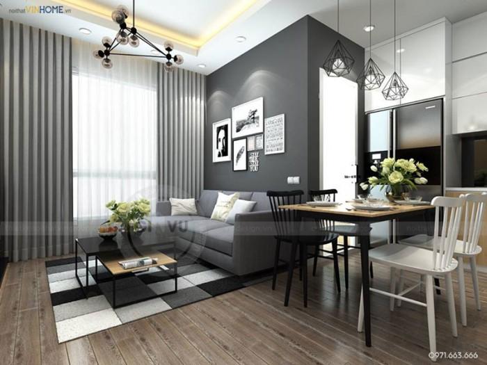 thiết kế nội thất chung cư Park hill Park4 dự án Park hill