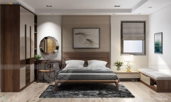thiết kế nội thất chung cư Park hill phòng ngủ chính