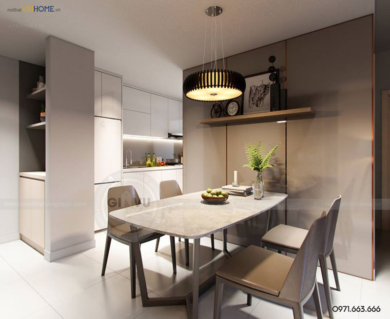 thiết kế nội thất chung cư Park3 Park hill