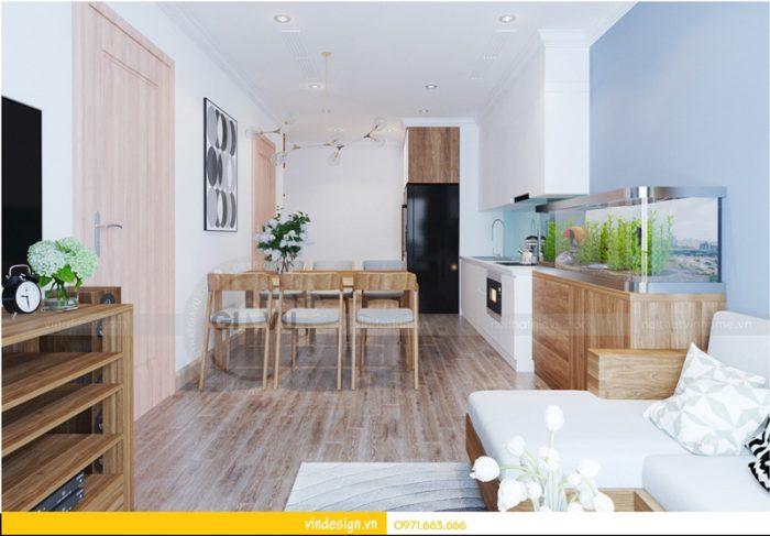 thiết kế nội thất chung cư Park hill Park 2 căn 05