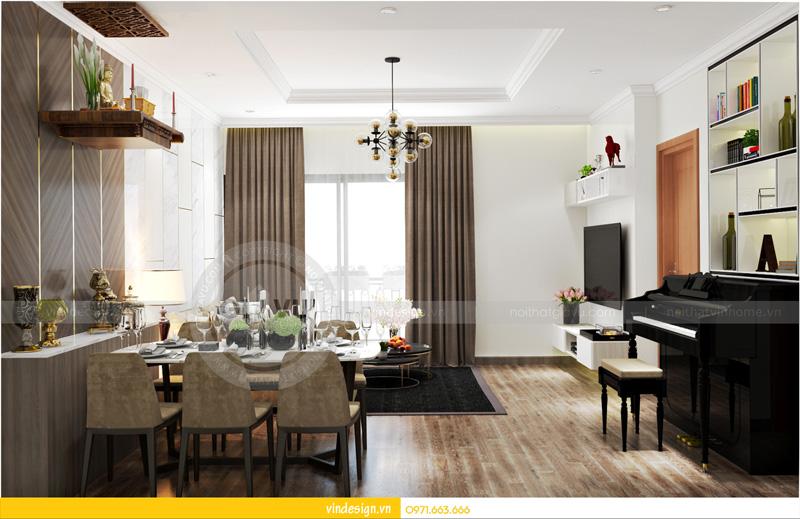 nội thất căn hộ Park hill 8 căn số 08 03