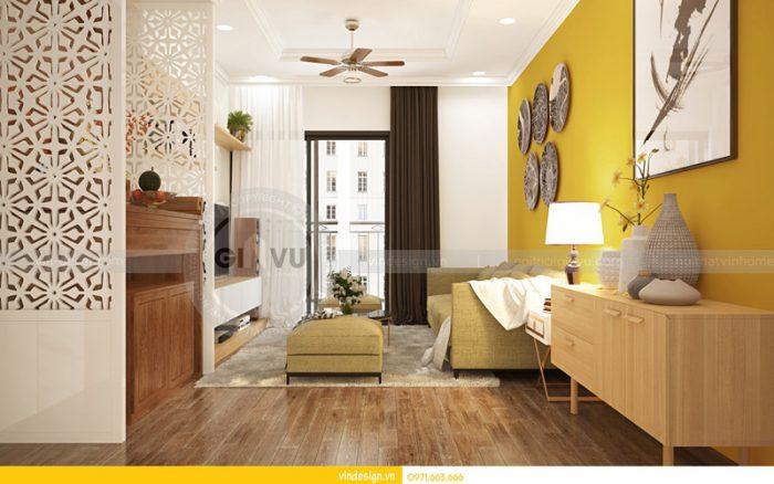 thiết kế nội thất Park hill 2 căn hộ 11