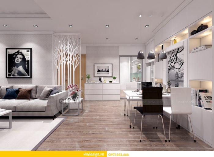 thiết kế nội thất chung cư Park hill 04