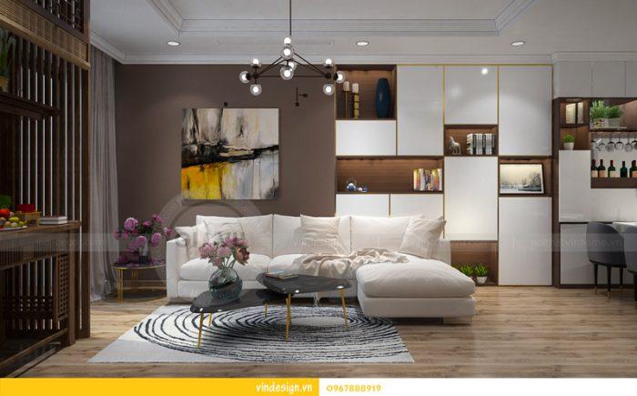 thiết kế nội thất chung cư Park hill 6 căn hộ 07 04