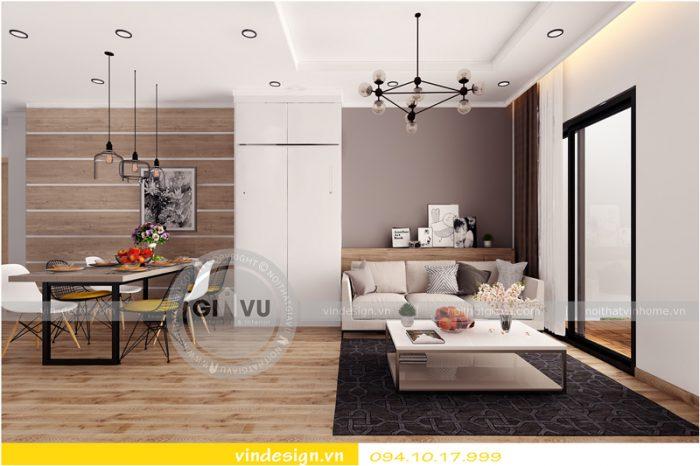 thiết kế nội thất chung cư Park hill 8 căn hộ 16 02