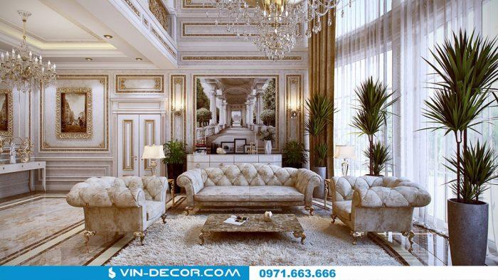 thiết kế nội thất chung cư phong cách cổ điển 10