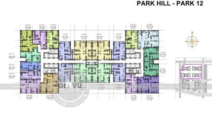 Thiết kế nội thất chung cư park hill Premium Park hill 12 – Times City 01