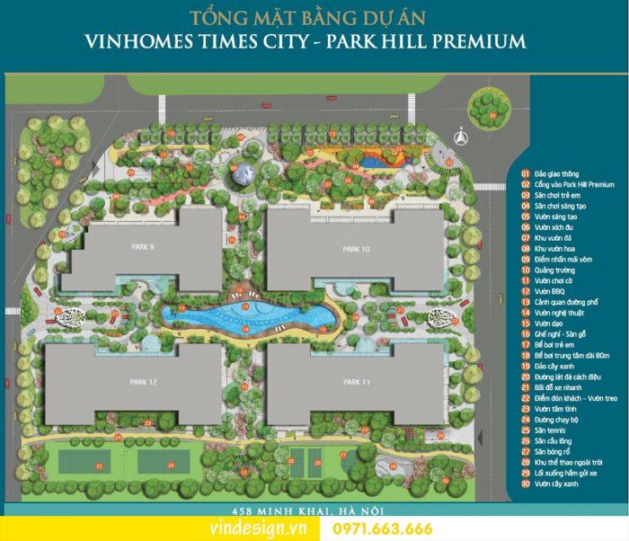 Thiết kế nội thất chung cư park hill Premium Park hill 9 – Times City 01