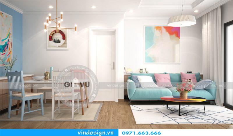 Thiết kế nội thất hiện đại chung cư park hill 05