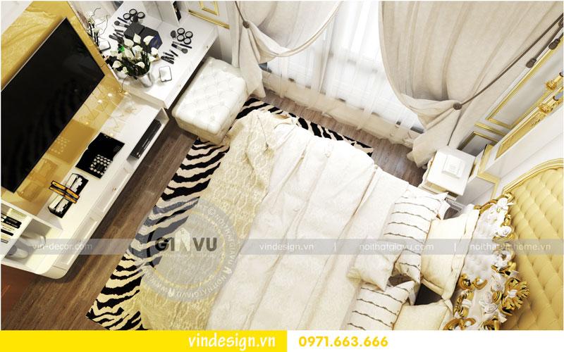 Phương án thiết kế nội thất căn hộ 2 phòng ngủ vinhomes D'Capitale 06