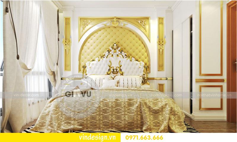 Phương án thiết kế nội thất căn hộ 2 phòng ngủ vinhomes D'Capitale 08