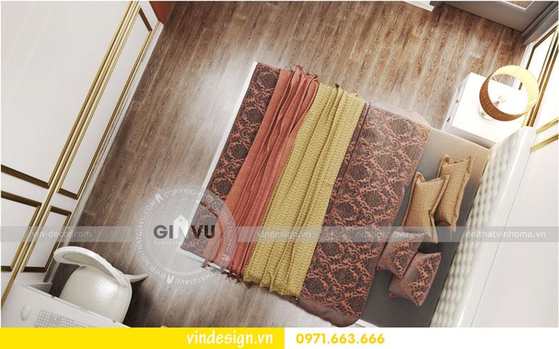 Phương án thiết kế nội thất căn hộ 2 phòng ngủ vinhomes D'Capitale 09