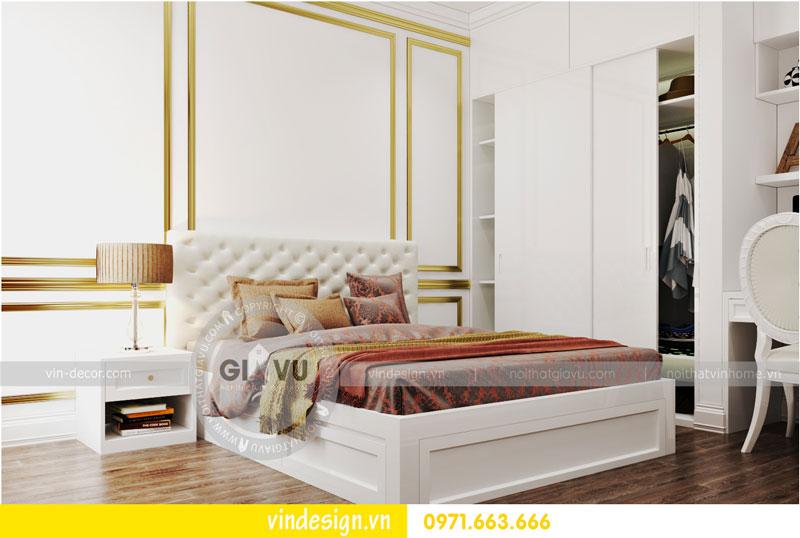 Phương án thiết kế nội thất căn hộ 2 phòng ngủ vinhomes D'Capitale 10