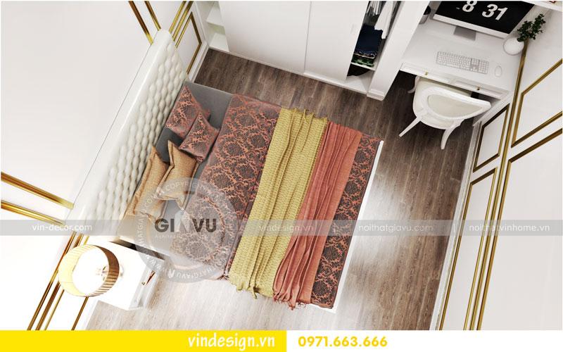 Phương án thiết kế nội thất căn hộ 2 phòng ngủ vinhomes D'Capitale 11
