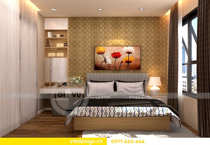 thiết kế nội thất chung cư 1 phòng ngủ đẹp tại vinhomes D Capitale 04