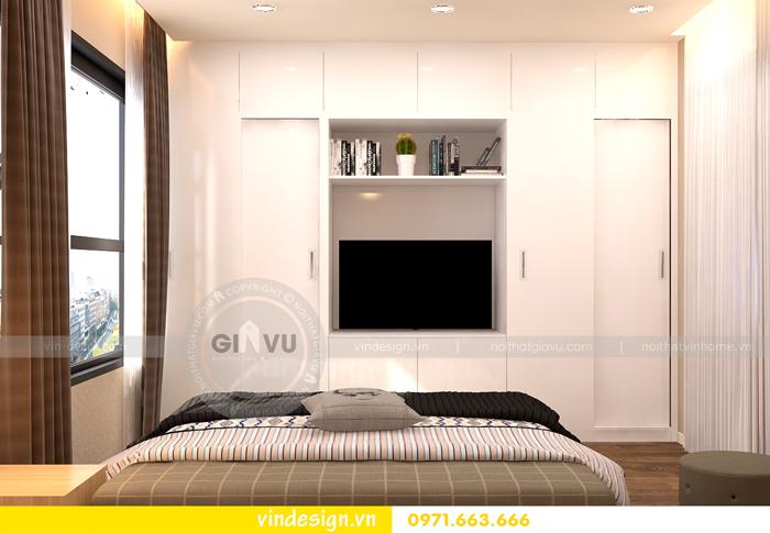 thiết kế nội thất chung cư 1 phòng ngủ đẹp tại vinhomes D Capitale 05