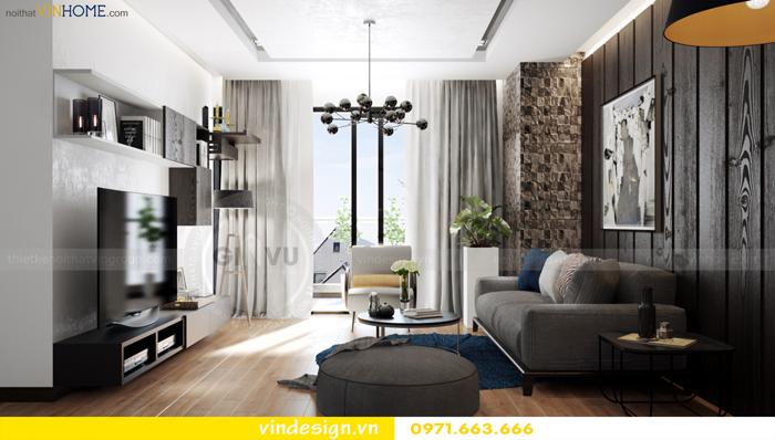 các mẫu thiết kế phòng khách đẹp tại vinhomes d capitale 01