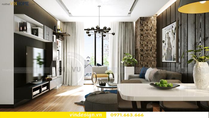 các mẫu thiết kế phòng khách đẹp tại vinhomes d capitale 02