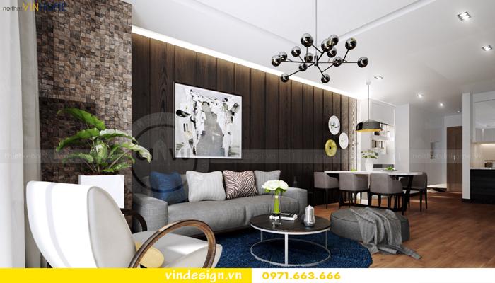 các mẫu thiết kế phòng khách đẹp tại vinhomes d capitale 03